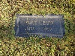 Fairie L. <I>Wilson</I> Barr