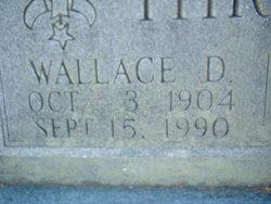 Wallace D. Thrash