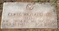 Curtis Wayland Lee