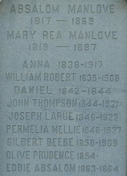 Mary Fortner <I>Rea</I> Manlove