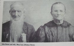 Mary Lucy <I>Dickey</I> Brown
