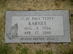 "Clay Paul ""Tuffy"" Karnes"