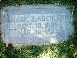 Marie Z. Koehler