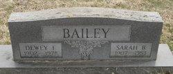 Dewey F. Bailey