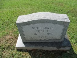 Ruth <I>Burks</I> Eubank