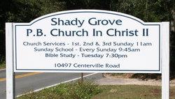 Shady Grove Primitive Baptist Church #2
