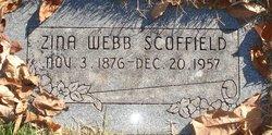 Zina Colemere <I>Webb</I> Scoffield