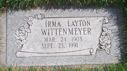 Erma Lucille <I>Moulton</I> Wittenmeyer