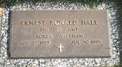 SSGT Ernest Ronald Hale