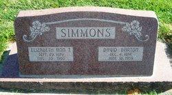 Elizabeth Ann <I>Thornley</I> Simmons