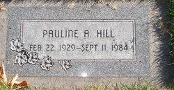 Pauline Kershaw <I>Adams</I> Hill