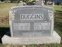 Lucy A. <I>McGee</I> Duggins