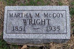 Martha Mahala <I>Koger</I> McCoy Wright