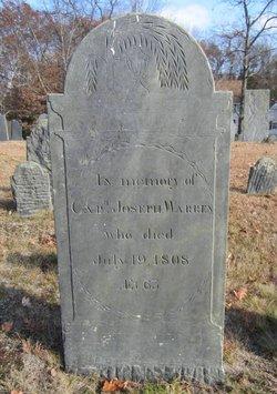 Capt Joseph Warren