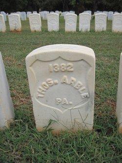 Pvt Thomas Arble