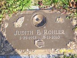 "Judith Elaine ""Judy"" <I>Rohler</I> Garner"