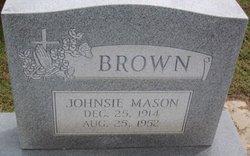 Jonsie J. <I>Mason</I> Brown