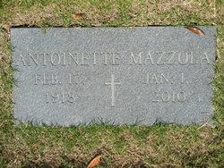 """Antoinette Mary """"Donia"""" <I>Butera</I> Mazzola"""
