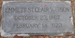 Emmett St. Clair Watson