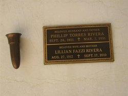 Lillian <I>Fazzi</I> Rivera
