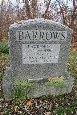 Verna <I>Simonds</I> Barrows