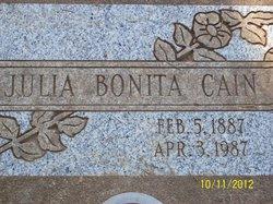 Julia Bonita <I>Early</I> Cain