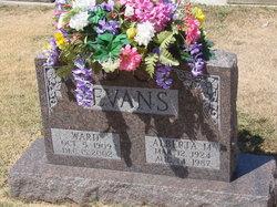 Alberta M <I>Schaaf</I> Evans