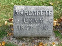Margarete Elizabeth <I>Lewis</I> Grimm
