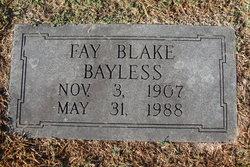 Fay <I>Blake</I> Bayless