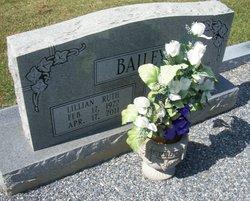Lillian <I>Pritchett</I> Bailey