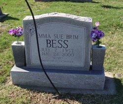 """Emma Sue """"Susie"""" <I>Brim</I> Bess"""