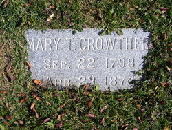Mary <I>Taylor</I> Crowther
