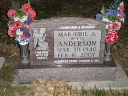 Marjorie Ann <I>Weets</I> Anderson