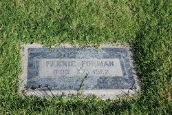 Fannie <I>Levi</I> Forman