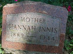 Hannah A <I>Simmons</I> Innis
