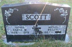 Asaph W Scott