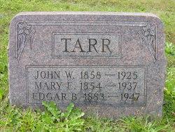 Edgar B Tarr