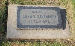 Anna Viola <I>Barber</I> Davenport