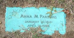 Anna M Parsons