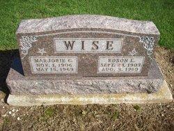 Marjorie G <I>Clark</I> Wise