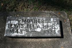 Lewis Ella Hibbs