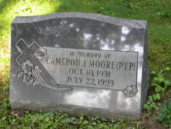 "Cameron J ""Pep"" Moore"