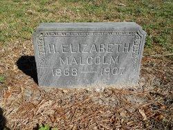 Henrietta Elizabeth <I>Quigley</I> Malcolm