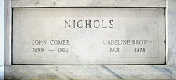 John Comer Nichols
