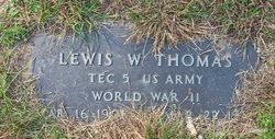 Lewis W. Thomas
