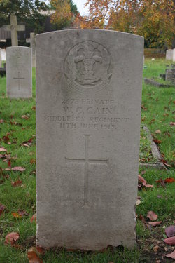 Pvt William Charles Cain