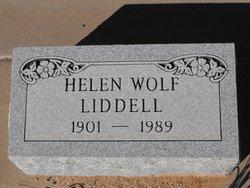 Helen C <I>Blatt</I> Wolf Liddell