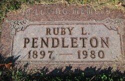 Ruby Lucretia <I>Smith</I> Pendleton