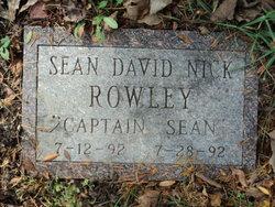 """Sean David Nick """"Captain Sean"""" Rowley"""