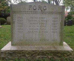 Bertha L Forg